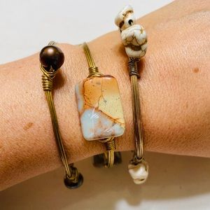 Bourbon and Boweties Set of Bangles